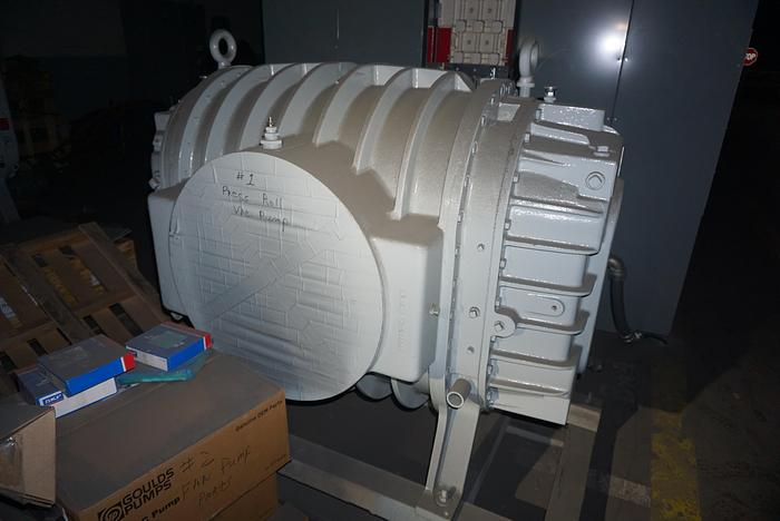 Used ROOTS ROTARY LOBE BLOWER 1200 RPM UNUSED SPARE