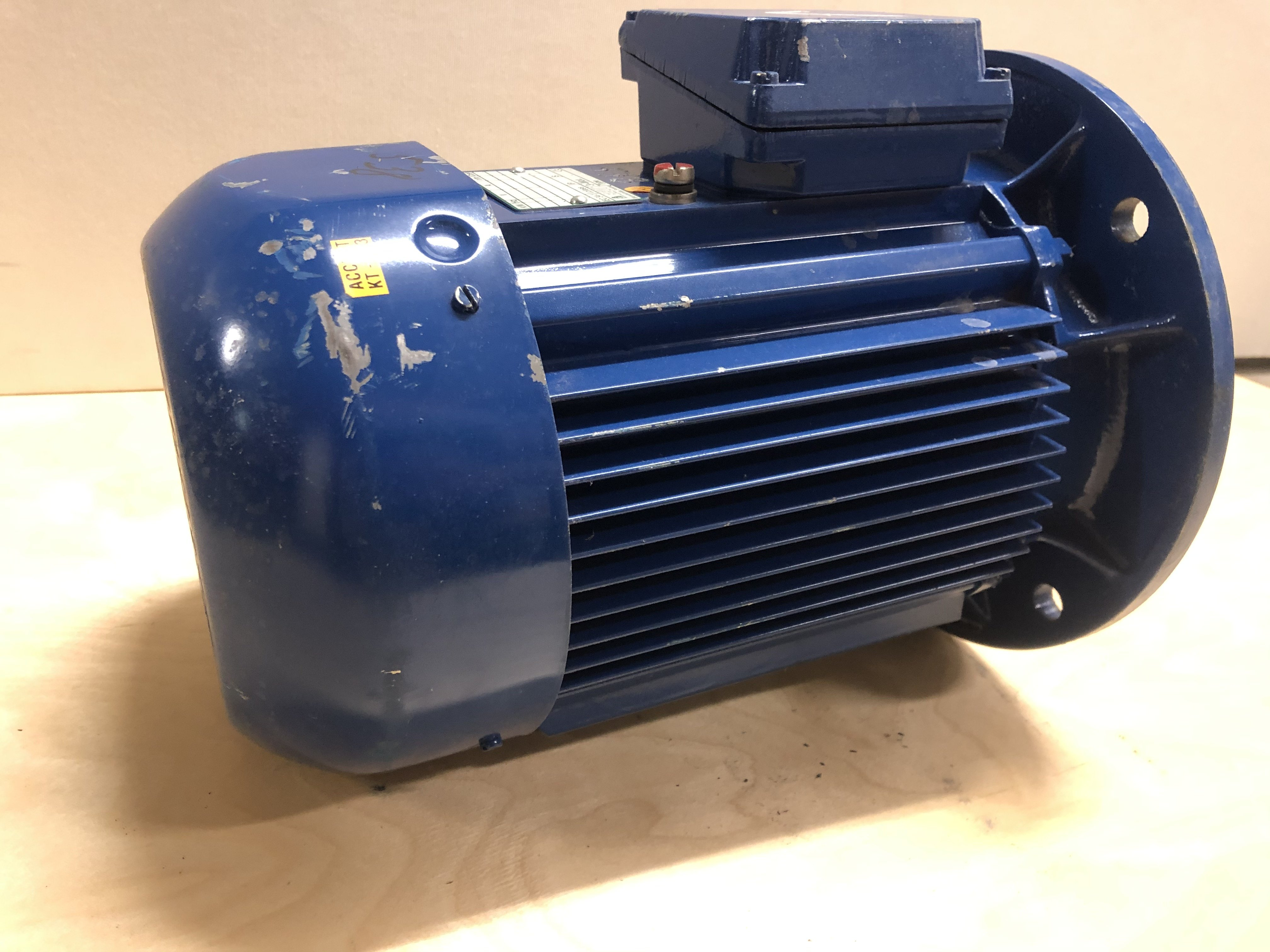 Used BEVI electric motor 3 kW