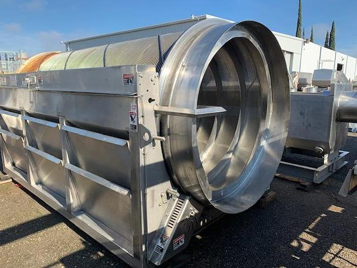 Lycos Single Drum Rotary Wastewater Screen