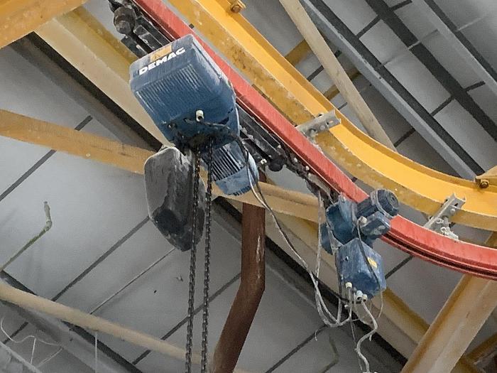 Used 1998 DEMAG DKUN 10-800 K V1