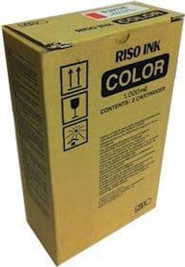 Riso Bright Red Ink For Risograph Copiers S-3979E