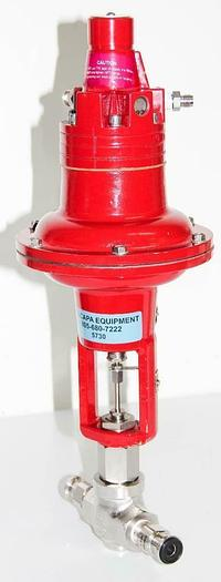 Used Research Control Badger Meter TLDA Actuator Valve 15 PSI 1002GCN36SVCPE