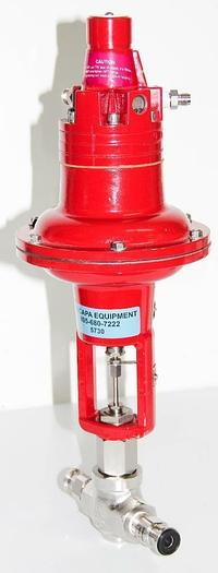Used Badger Meter 1002GCN36SVCPEEP36 Research Control Valve Actuator 15 PSI (5730)