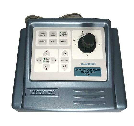 Used Clemex JS-2000 Microscope Motorized Stage Controller and Interface USED (7826) R