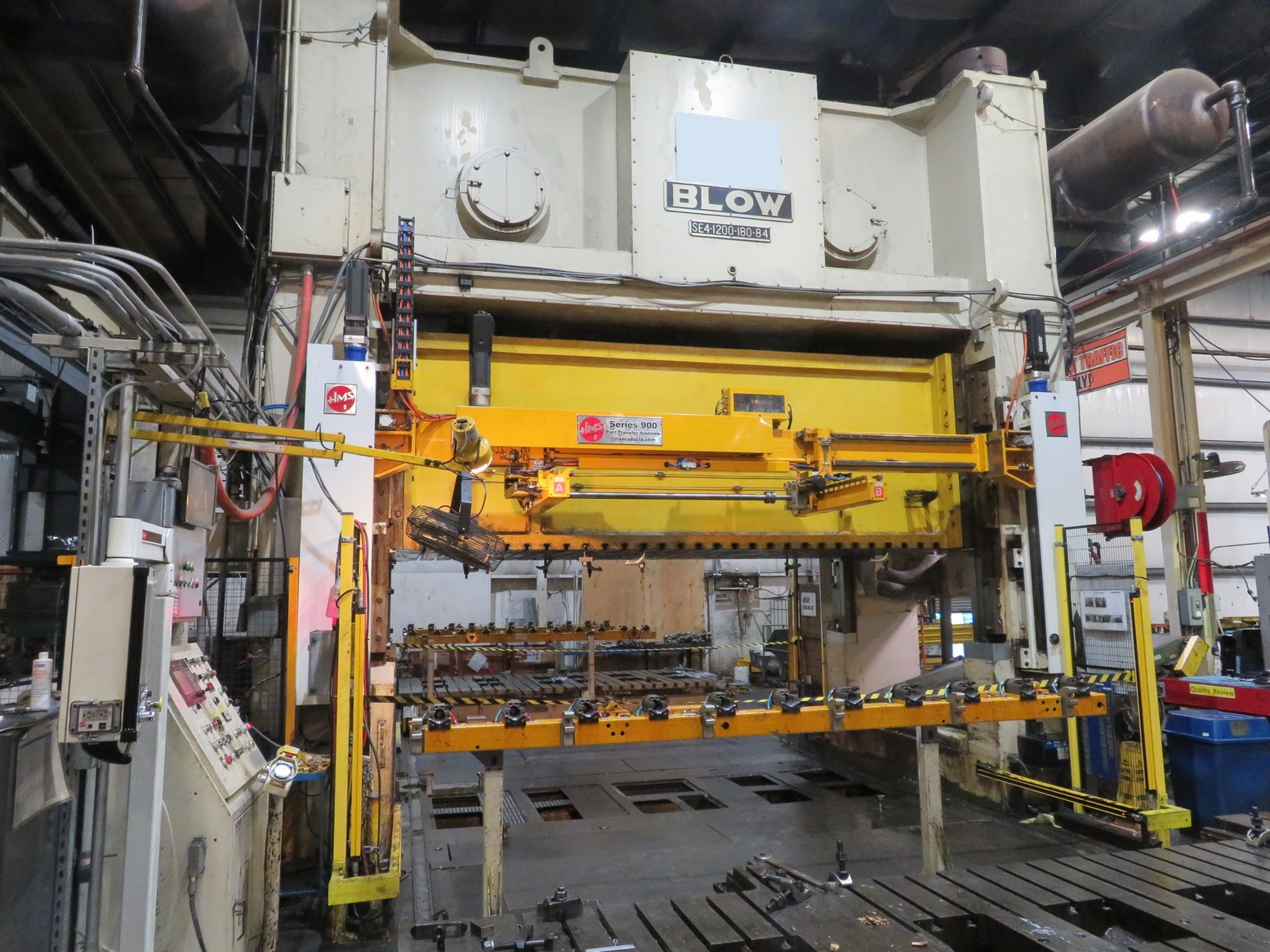 """Used 1200 ton Blow 180""""x84""""  SSDC Stamping Press"""