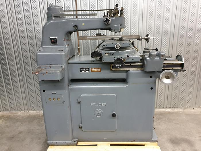 Used Fritz Studer SFM 500 Precision Milling Machine