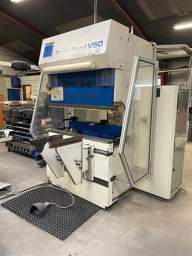 Used BRUGT CNC-KANTPRESSE FABRIKAT TRUMPF, MODEL TRUMABEND V50