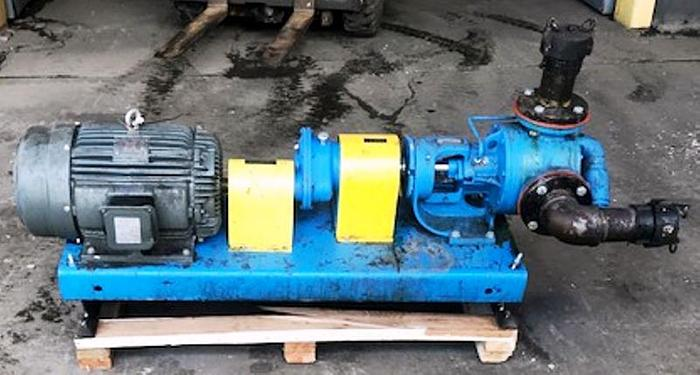 Used 20 HP Viking Gear Pump 3 Inch Inlet & Outlet Model #  LS4124A