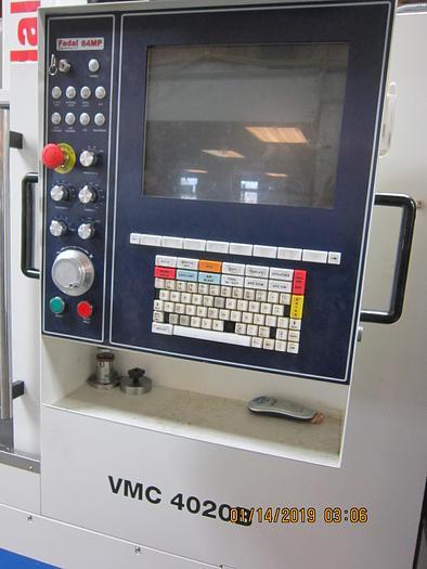 2017 FADAL VMC 4020B