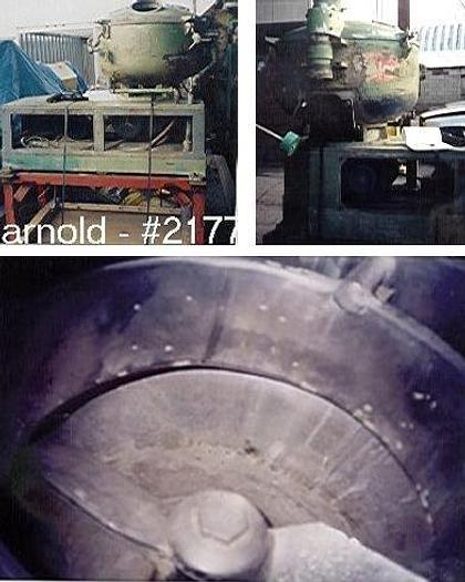 Used 300 LITER PAPENMEIER COOLING MIXER – S/S – JACKETED