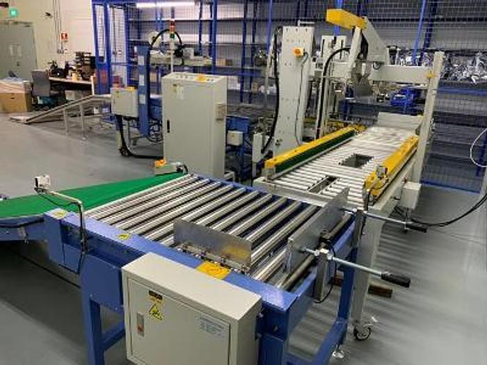Used PACKAGING SYSTEMS ENTRY CONVEYOR