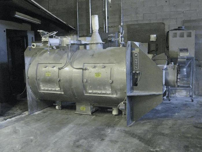 Used 100 CU. FT. MUNSON CYLINDRICAL PLOW BLENDER – S/S