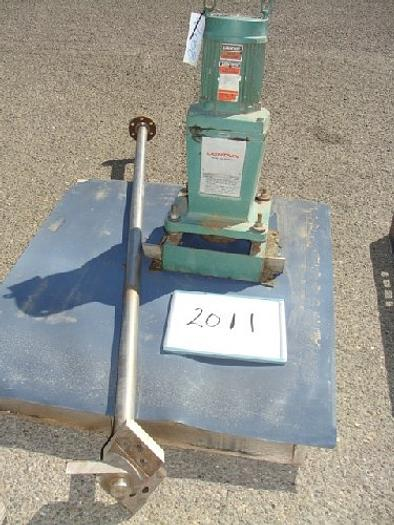 Used Lightnin 1 Hp Tank Mixer