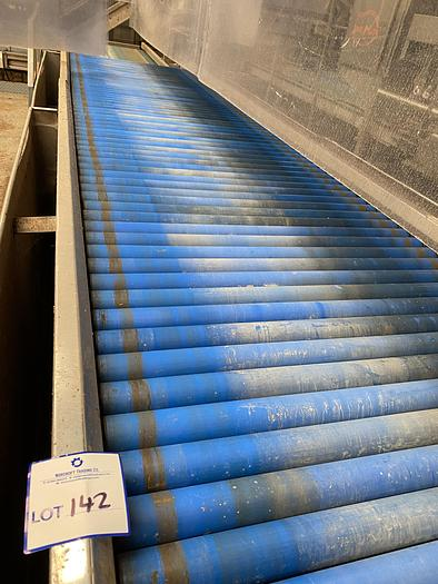 Used Inspection Roller Table 4.8m L 1.2m W