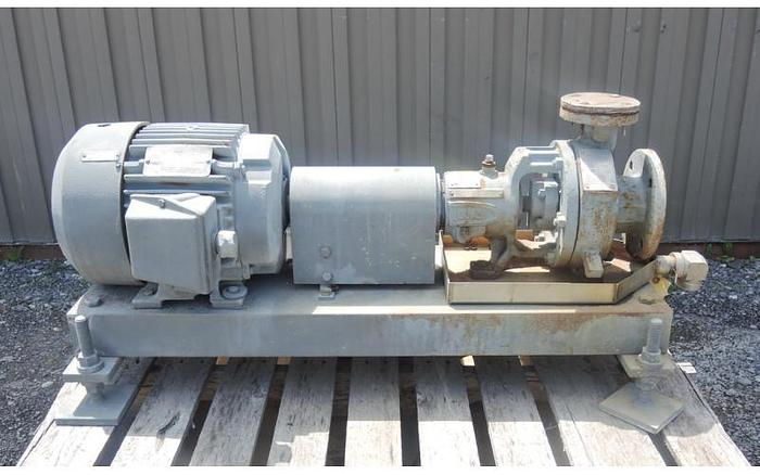 "Used USED CENTRIFUGAL PUMP, 3"" X 1.5"" INLET & OUTLET, D.C.I."