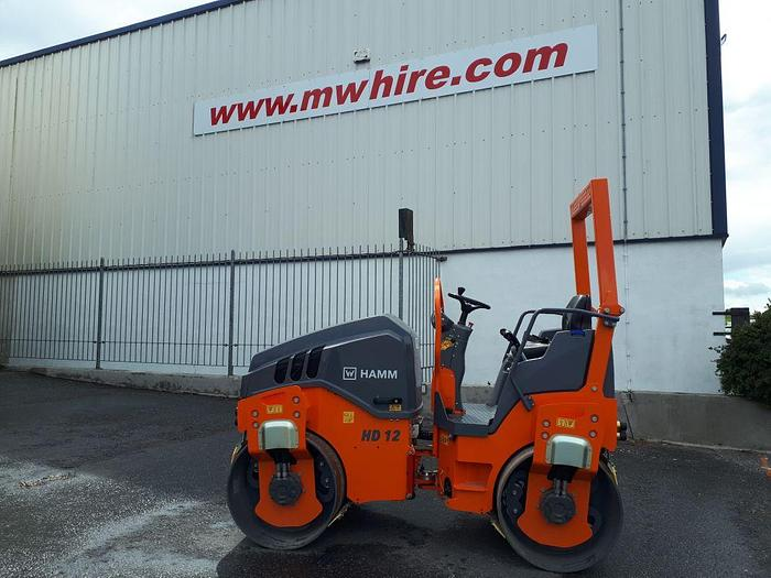 Used Hamm HD12