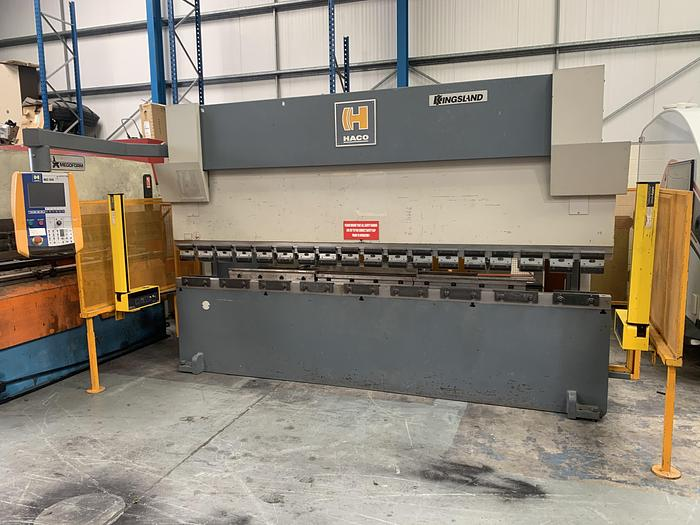 Used KINGSLAND HACO 3.6m x 100 Ton CNC press brake