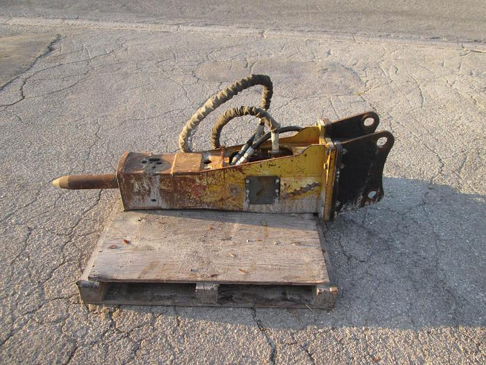 Used Excavator Hydraulic Breaker Attachment