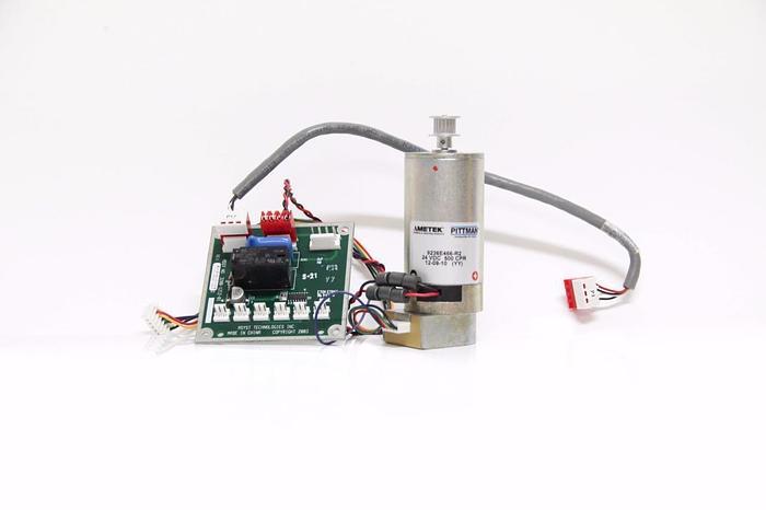 Used Pittman Ametek 9236E466-R2 500 CPR Motor Rev. A & Asyst PCB 3200-1212-01 (4249)