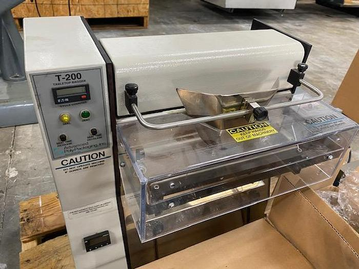 Used Advanced Poly Packaging T-200 Bagger #5885