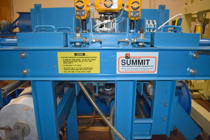 Unused Summit International Filtration Systems, filter system. filter
