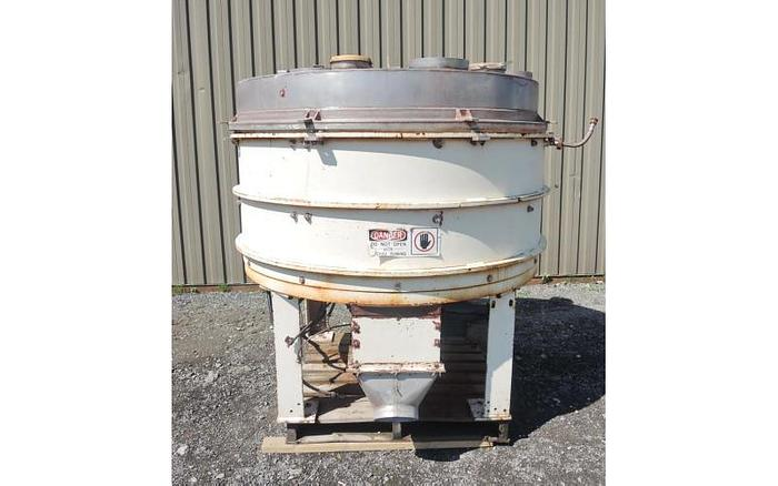 "Used USED PLOW BLENDER,  32 CUBIC FEET, ""SIMPSON PLOUGH MIXER"", CARBON STEEL"