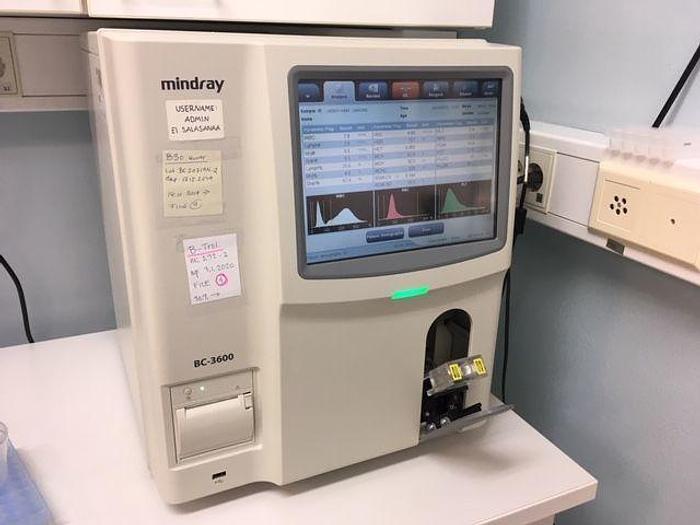 Used MINDRAY BC-3600