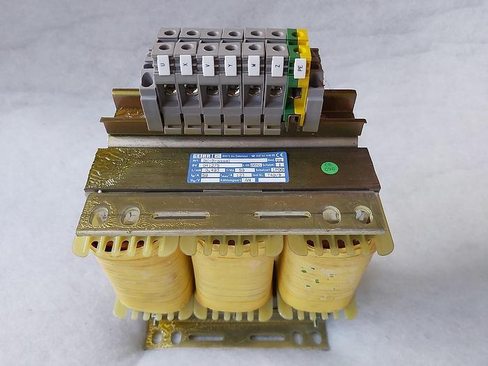 Trafo / DK Drossel, BV 041275 Getra, 400V,123A, neuwertig