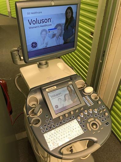 Used GE Voluson E8