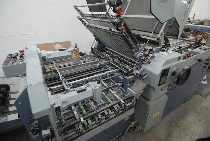 Gebraucht Stahl Falzmaschine KC78/4KTL, 1994, #1265836