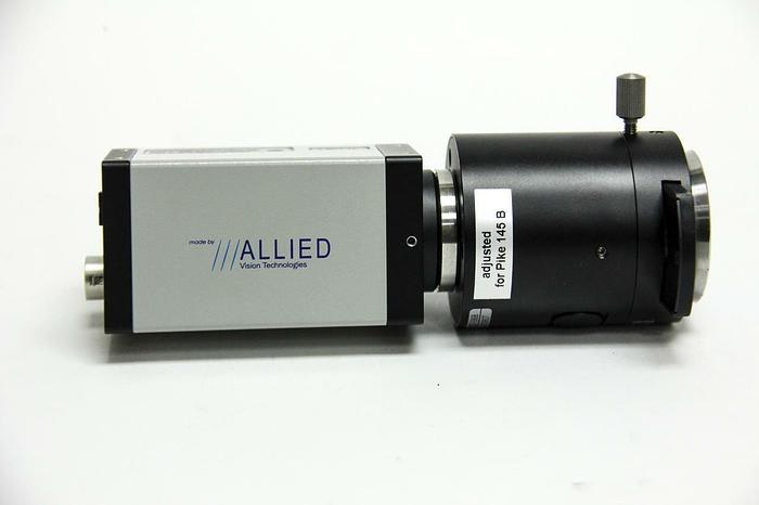 Used Allied Vision Technologies Pike F145B ASG16 15 fps CZ CCD Camera + Lens (5011)
