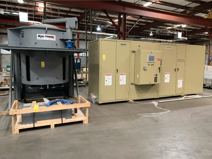 2015 AJAX INDUCTION FURNACE, 3.5T PACER-II 1000 Kw