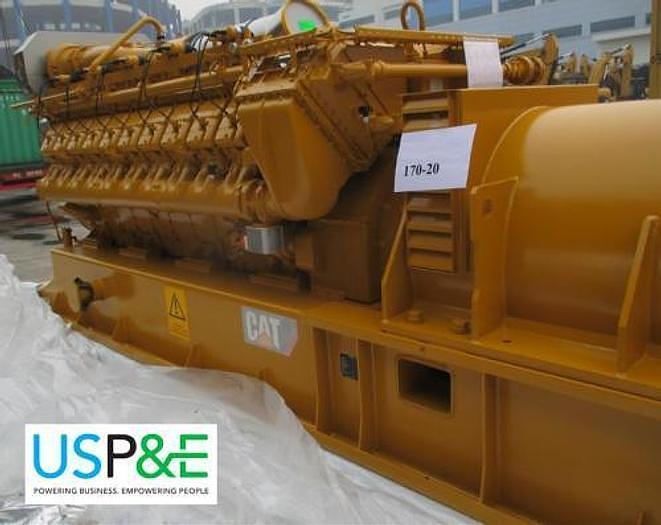 2 MW 2015 New Caterpillar CG170-20 Natural Gas Generator Set