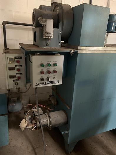 Used SAMSCO NATURAL GAS WATER EVAPORATOR – 316 SS (#9612)
