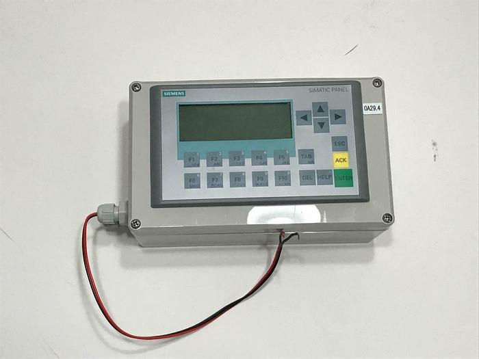 Used Siemens 6AV6647-0AH11-3AX0 SIMATIC HMI KP300 Basic mono Panel USED (7811) R