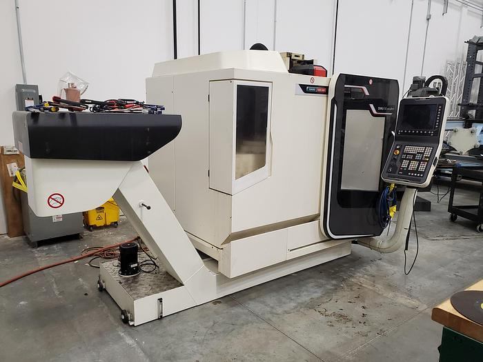 Used 2013 DMG MORI DMU 50 Ecoline 5-Axis Vertical Machining Center