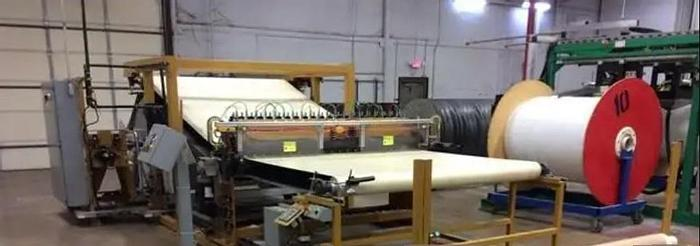 """Used 84"""" SOUTH SHORE SLITTING SYSTEM W/ TRAVERSING WINDERS"""