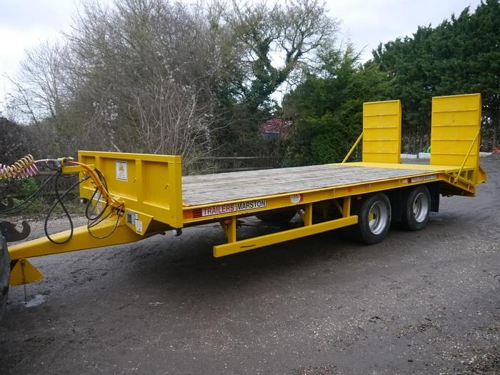 Used AS Marston MPT15FT Low Loader Trailer