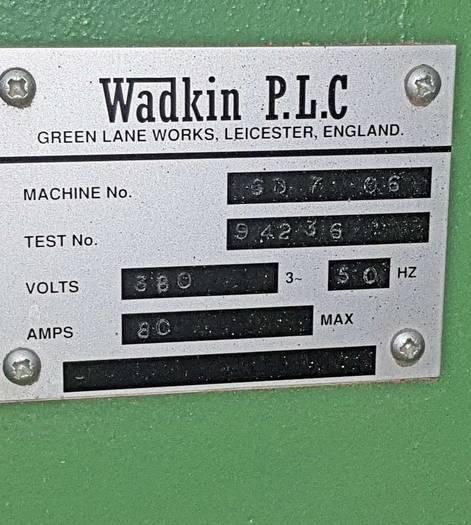 1990 Wadkin Planer / Moulder GD 220 / 5 U