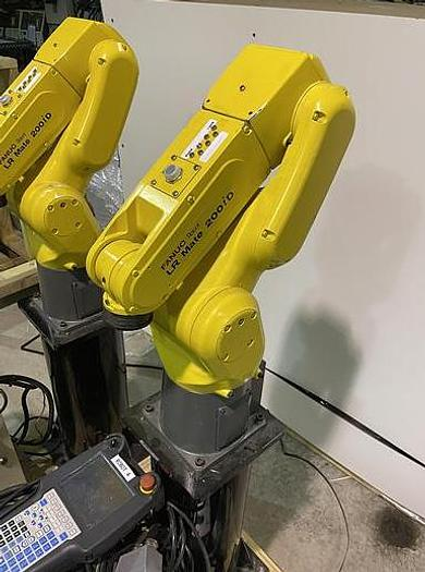 Used 2017  FANUC  LR MATE 200ID6 AXIS CNC ROBOT WITH R30iB MATE CONTROLLER (DEMO UNITS, 5 AVAILABLE)