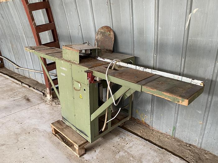 Used Valmeco, cross cut saw
