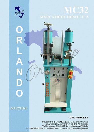 MC32 - MARCATRICE IDRAULICA / HYDRAULIC MARKING MACHINE