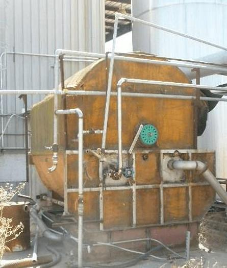 Used 8 FT. X 8 FT. ROTARY VACUUM DRUM FILTER – 304 S/S
