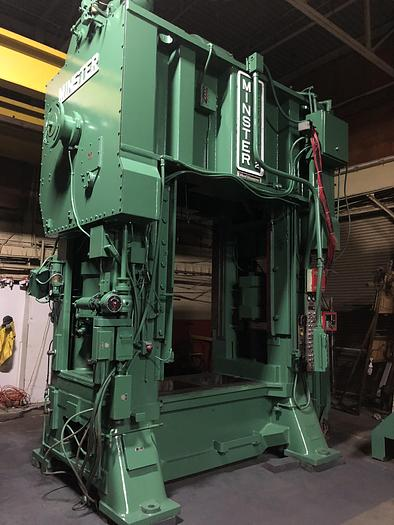 Used 500 ton Minster E2-500-72-42