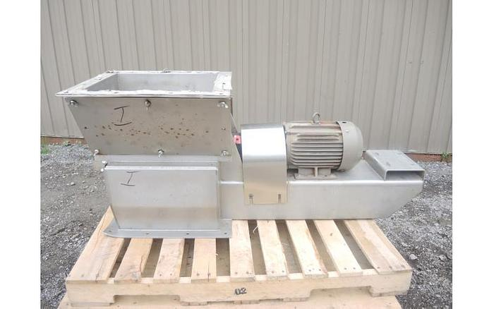 USED WALTER HAMMER MILL, STAINLESS STEEL , SANITARY, 5 HP