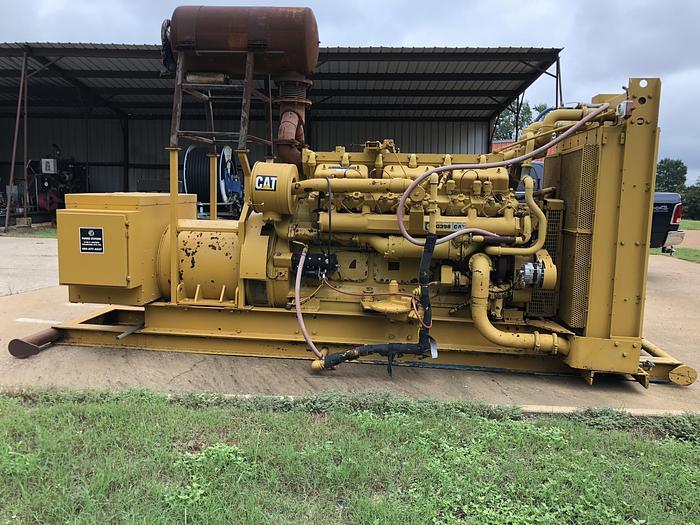 Used Caterpillar G398 SI NAHC Natural Gas Generator