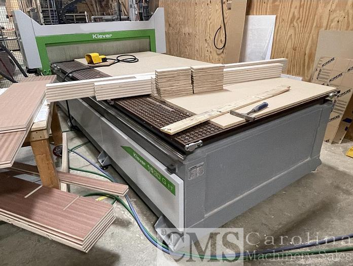 Used 2013 Biesse Klever 1530G CNC Router