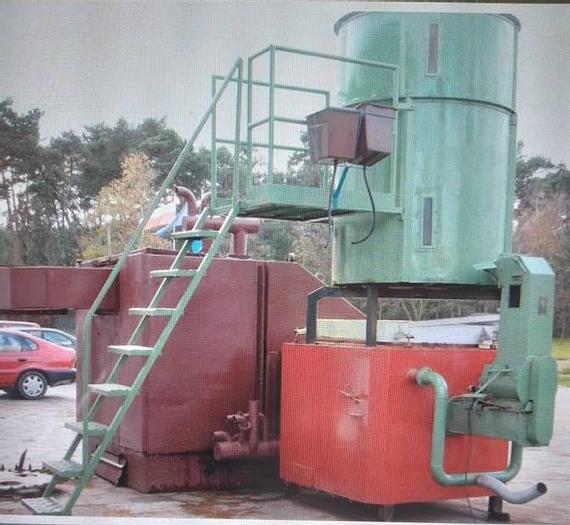 2008 Hamech Wood Chip/Boiler/Burner Kw-600