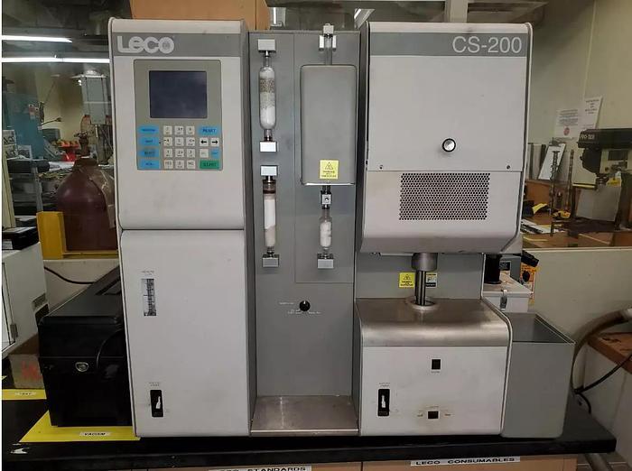Used LECO  CS-200 CARBON / SULFUR DETERMINATOR