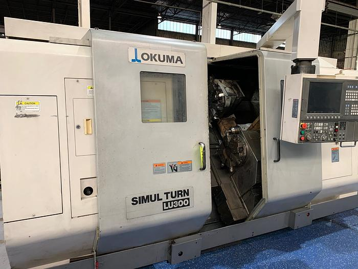 2005 Okuma LU300 Turning Center with Twin Turrets